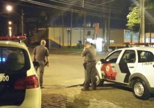 No mês passado, bandidos tentaram explodir caixa em Mogi Mirim (Divulgação)