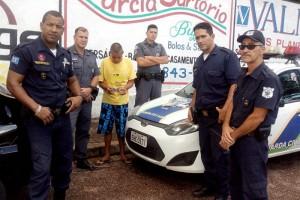 Silva foi preso durante trabalho de policiais e guardas (Divulgação)