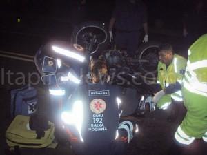 Agentes de resgate do Samu socorreram vítima ainda com vida (Divulgação)