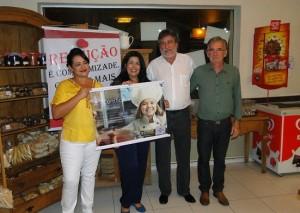 Coquetel contou com a presença do prefeito (Divulgação)