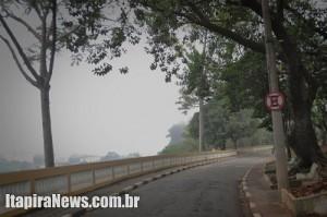 Parque Juca Mulato concentrou neblina