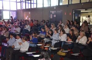 Professores e demais interessados se reuniram para discutir plano (Divulgação)