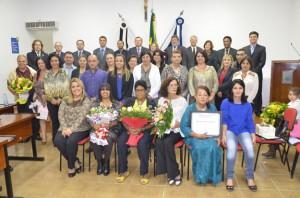 Profissionais foram homenageadas com Diploma Anna Nery (Divulgação)