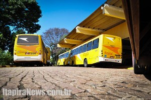 Ônibus poderão parar a partir de terça, como já ocorreu no ano passado (Arquivo)