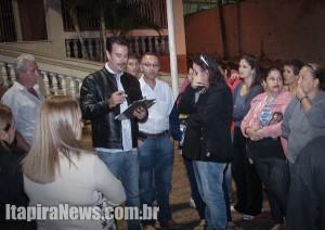 Moradores levaram insatisfação ao conhecimento da Prefeitura