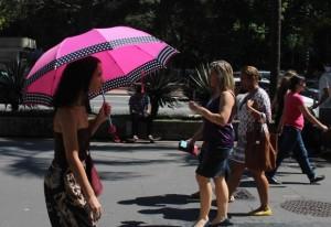 Forte calor pede adoção de medidas de prevenção (André Tambucci/Fotos Públicas)