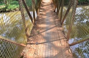Ponte foi fechada por tempo indeterminado (Divulgação)