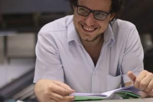 Alberto José Colosso Sartorelli, 21, é itapirense e estudante de filosofia na USP - Universidade de São Paulo (Isadora Souza/Divulgação)