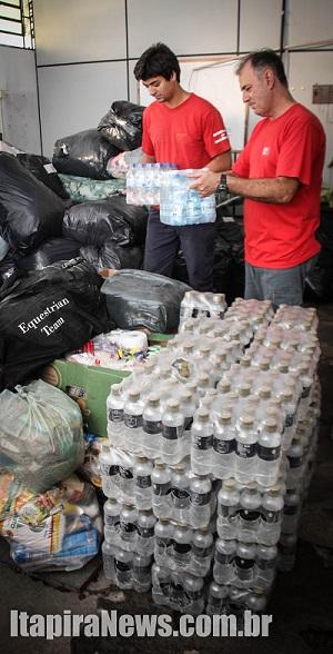 Donativos serão entregues mesmo após suspensão em Mariana (Leo Santos)