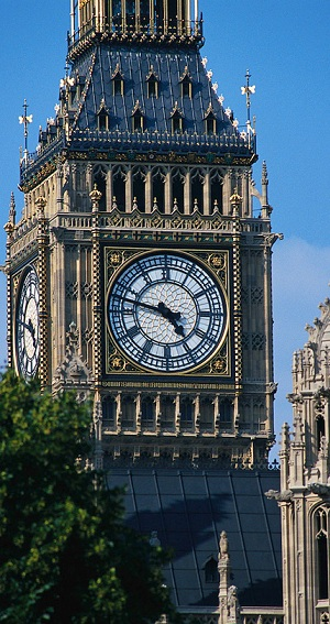Famoso relógio londrino passará por reforma na torre (Divulgação)