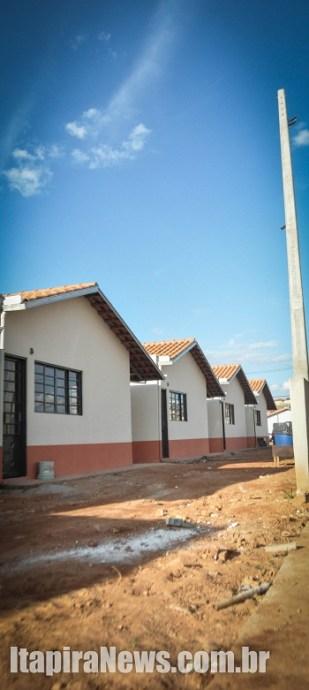 Casas foram construídas pelo Minha Casa, Minha Vida (Arquivo)
