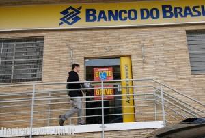 Bancos paralisaram atividades em Itapira