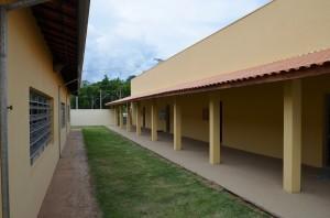 Unidade escolar foi ampliada em mais de 300 metros, segundo Prefeitura (Divulgação)