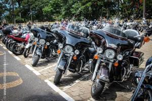 Evento reuniu muitas motos (Leo Santos/Megaphone)