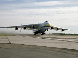 Antonov chegou ao Brasil nesta segunda-feira (Divulgação/Antonov Company)