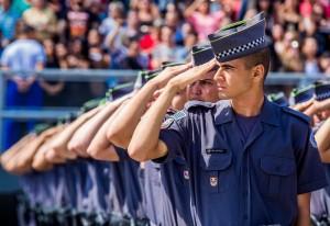 Concurso selecionará novos policiais (Alexandre Carvalho/Divulgação)