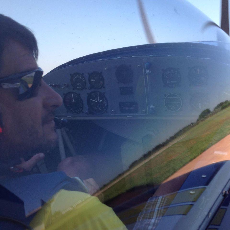 Antônio Landi pilotava aeronave (Reprodução/Redes Sociais)