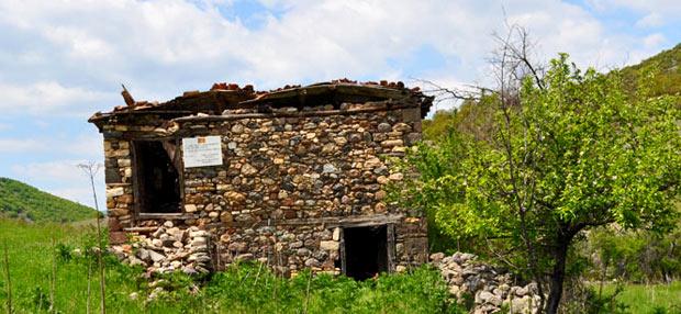 Родната куќа на Стале Попов, с. Мелница