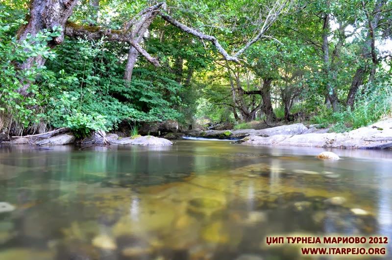 Река Трновчица, Мариово