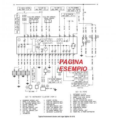 E1628 Manuale officina OPEL FRONTERA dal 1991 al 1998
