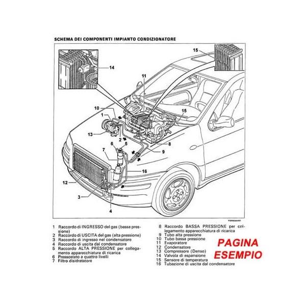 E4513 Manuale officina Fiat Bravo 1.6 diesel dal 2007 PDF