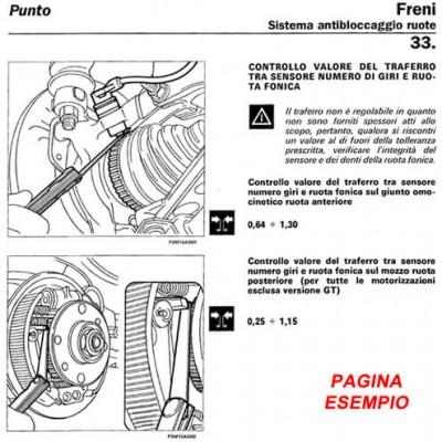 E1704 Manuale officina Fiat 500 Cinquecento 0.7 e 0.9 dal