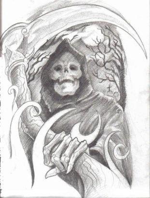 Free Grim Reaper Tattoo Image Tattoo From Itattooz