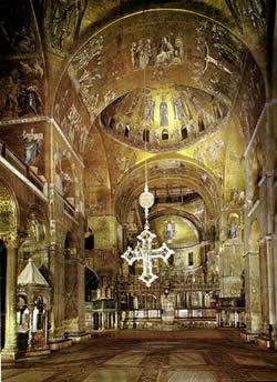 interno basilica di san marco