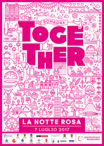 note rosa in riviera romagnola