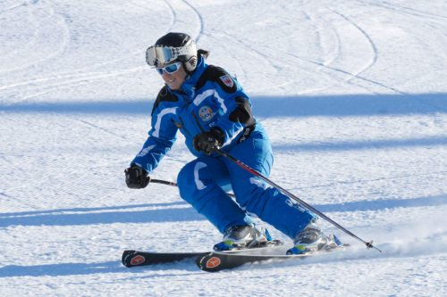 divertirsi sciando