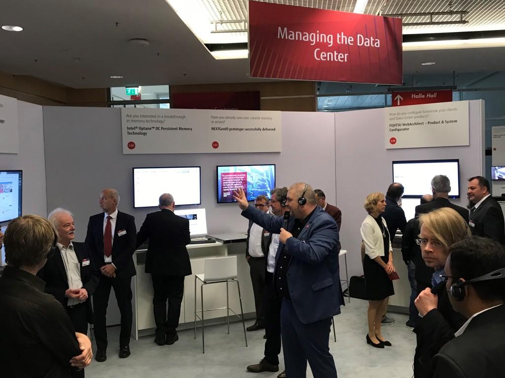Fujitsu Forum 2019 Managing Datacenter