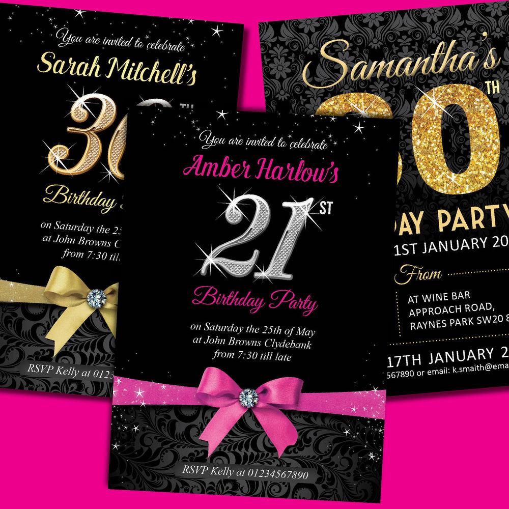 birthday party birthday invitation card
