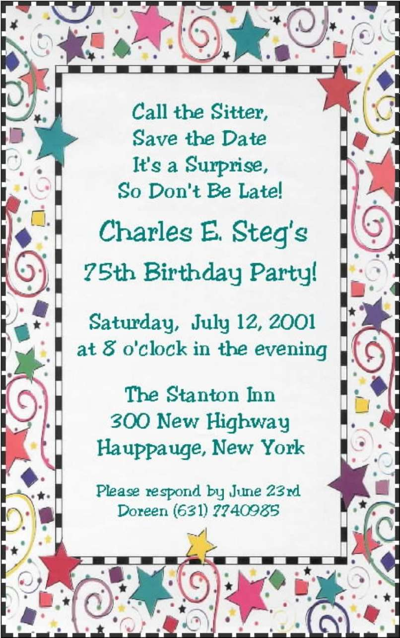 Funny 30th Birthday Party Invitation Wording | Inviview.co