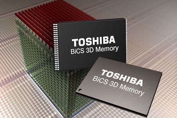 Система NAND/flash 3D Toshiba (48 слоев)