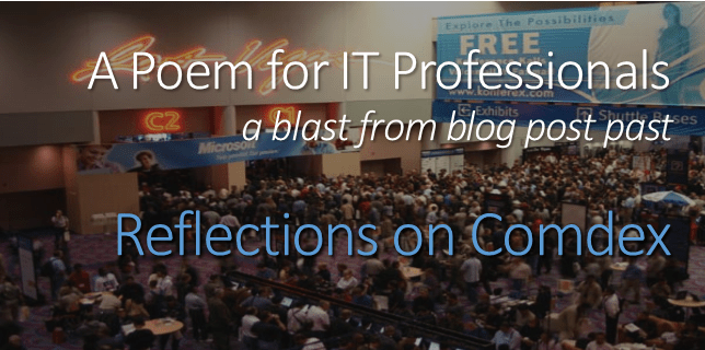 a poem for IT professionals