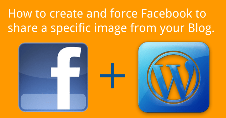 share the correct image on facebook from wordpress blog