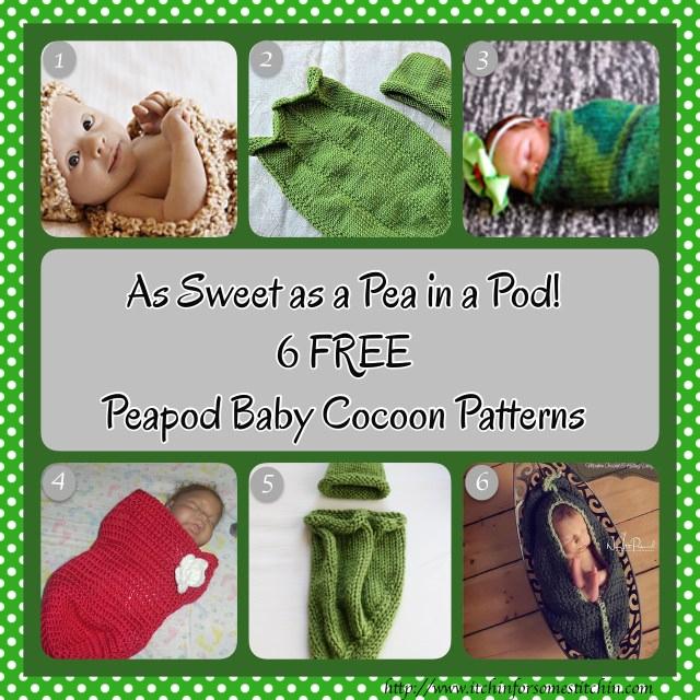 Free Knitting Pattern Baby Cocoon Pod : Roundup: 6 Fabulous and Free Peapod Baby Cocoon Patterns - Itchin for so...