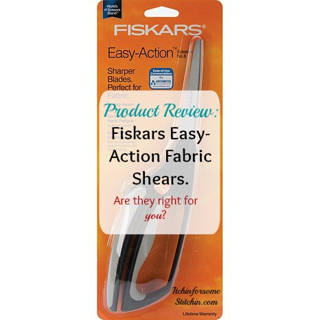 Product Review: Fiskars Spring-Action Fabric Scissors