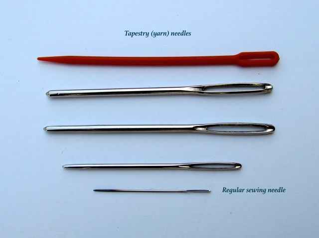 Tapestry Needle Comparison. http://www.itchinforsomestitchin.com
