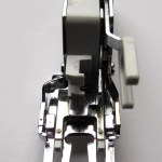 Interchangeable Dual Feed Presser Foot. http://www.itchinforsomestitchin.com