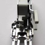 Interchangeable Dual Feed Presser Foot. http://www.itchinforsomestitchin.com
