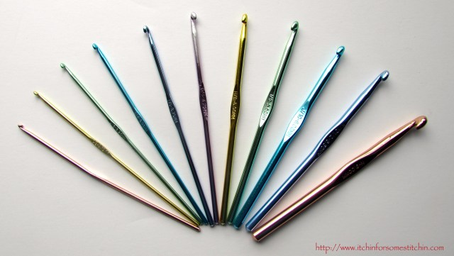 Crochet Hooks. http://www.itchinforsomestitchin.com