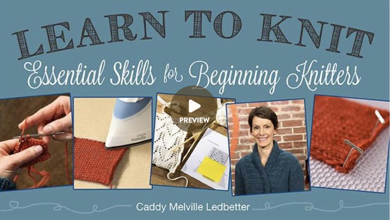 Craftsy Essential Knitting Class at http://www.itchinforsomestitchin.com