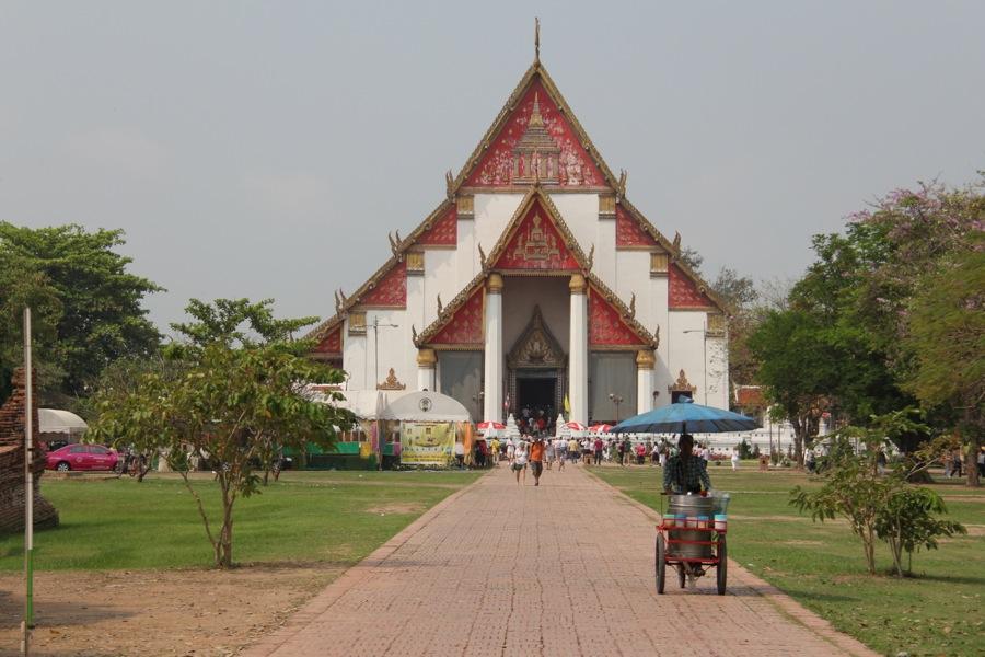 Wat Phra Si Sanphet in Ayutthaya, Thailand
