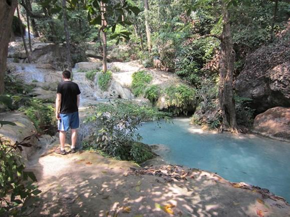 Erawan waterfall park