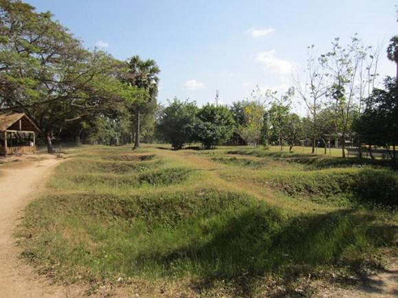 The Killing Fields in Phnom Penh, Cambodia