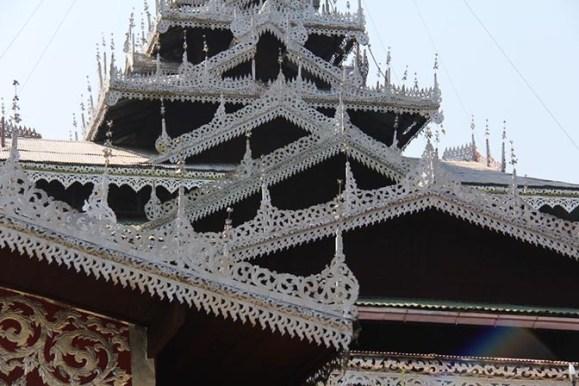 Wat Jong Klang in Mae Hong Son, Thailand