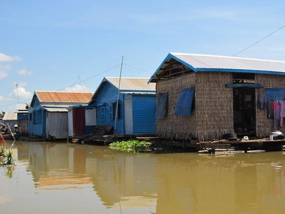 Floating village of Phoum Kandal, Cambodia