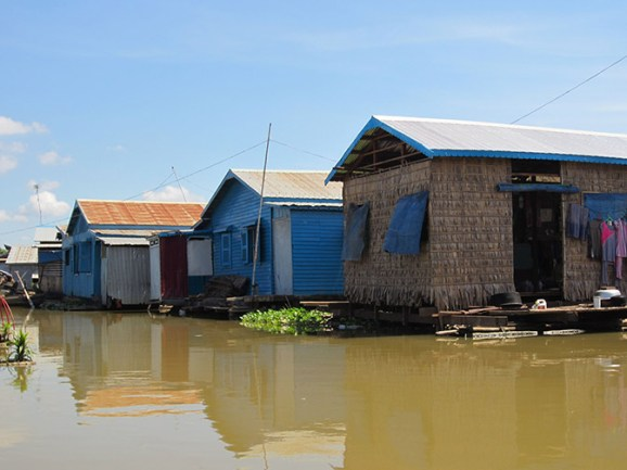 Floating village of Phoum Kandal, Cambodia