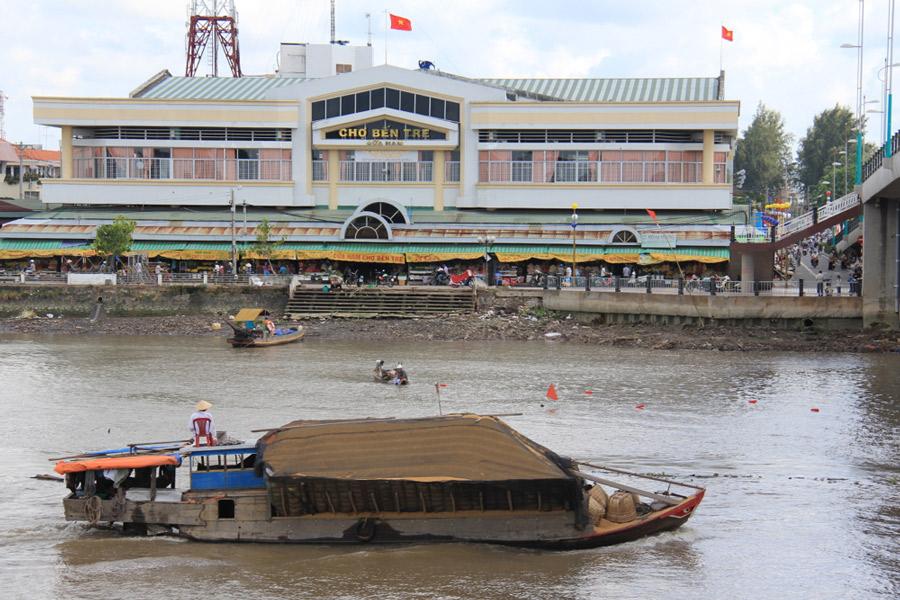 Ben Tre Market Vietnam